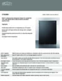 Brochure CT663BBI