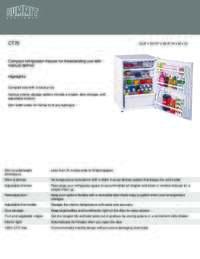Brochure CT70