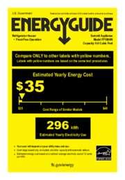 FF1084W Energy Guide