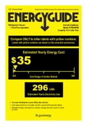 FF1084WIM Energy Guide