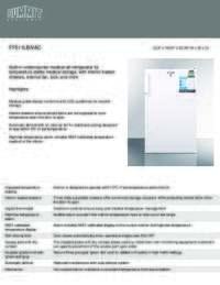 Brochure FF511LBIVAC