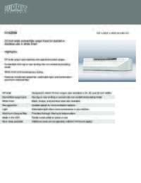 Brochure H1620W