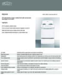 Brochure RE241W