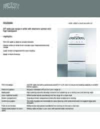 Brochure RG200W