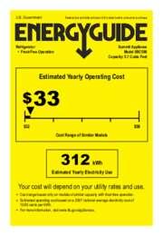 SBC590 Energy Guide
