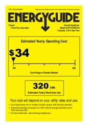 SCFF1537BCSS Energy Guide