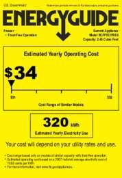 SCFF1537BSS Energy Guide