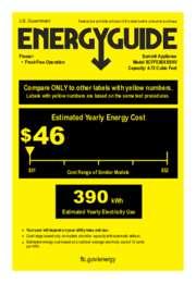 SCFF53BXSSHV Energy Guide
