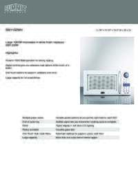 Brochure SM1102WH
