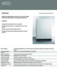 Brochure SPR627OS