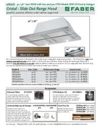 CRIS36SSH spec sheet