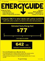AMLFDR23 energy guide