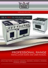 Kucht Ranges Manual