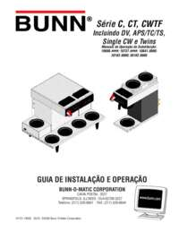 Installation and Operating Instructions Portuguese