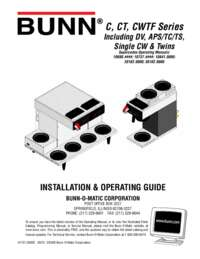 Installation and Operating Instructions English