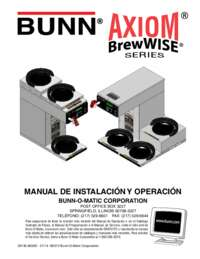 Installation and Operating Instructions Spanish