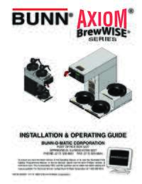 Installation and Operating Parts English