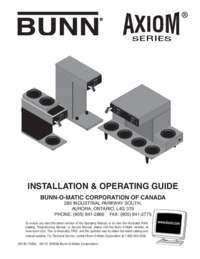 Installation and Operating Instructions French