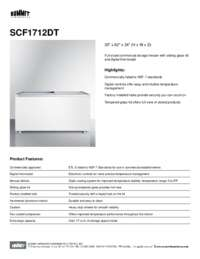 Brochure SCF1712DT