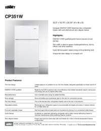 Brochure CP351W