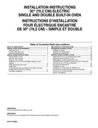 WOD97ES0ES Installation Instruction EN