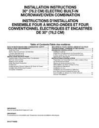 WOC97ES0ES Installation Instruction EN