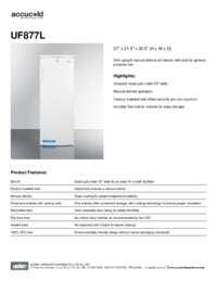 Brochure UF877L