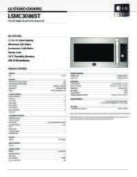 LSMC3086ST Spec Sheet