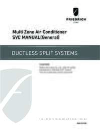 Multi Zone Service Manual - General