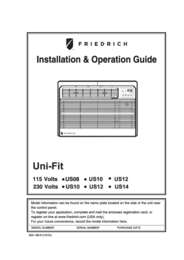Uni-Fit Installation Manual - US08, US10, US12, US14