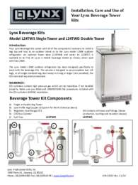 L24TWS & L24TWD Care & Use