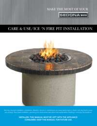 Fire Pit Care & Use