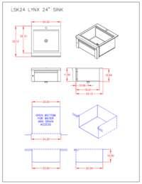 LSK24 Dimensions