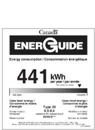 Energy Guide - (Canada)