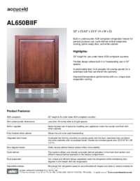 Brochure AL650BIIF
