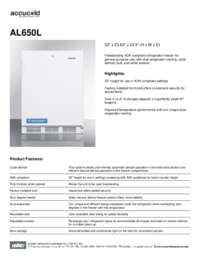 Brochure AL650L