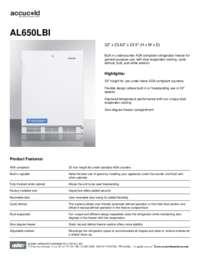 Brochure AL650LBI