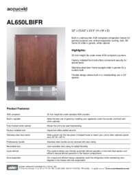 Brochure AL650LBIFR