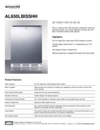 Brochure AL650LBISSHH