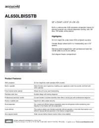 Brochure AL650LBISSTB