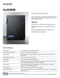 Brochure AL652BBI