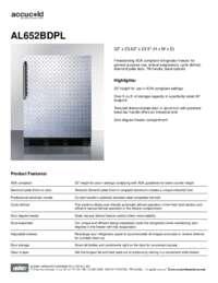 Brochure AL652BDPL