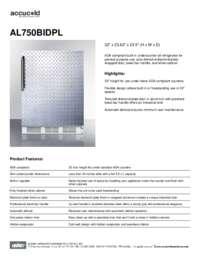 Brochure AL750BIDPL