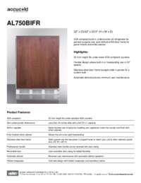 Brochure AL750BIFR