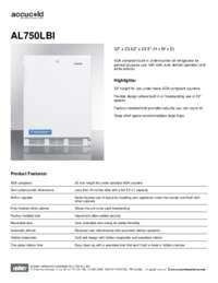 Brochure AL750LBI