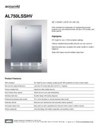 Brochure AL750LSSHV