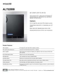 Brochure AL752BBI