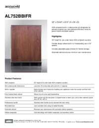 Brochure AL752BBIFR