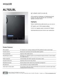 Brochure AL752LBL