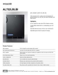 Brochure AL752LBLBI